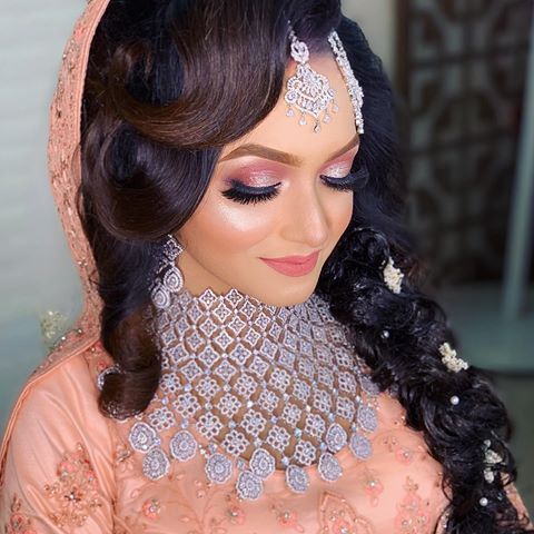 Zahid Khan Bridal Makeover Zahidkhanbridalmakeover Instagram Photos And Videos In 2020 Indian Wedding Indian