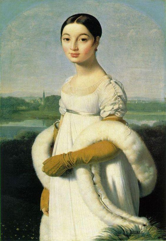 Jean Auguste Dominique Ingres - Mademoiselle Rivière