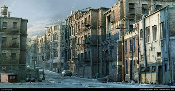 The Neighbourhood by Stefan Morrell | 3D | CGSociety