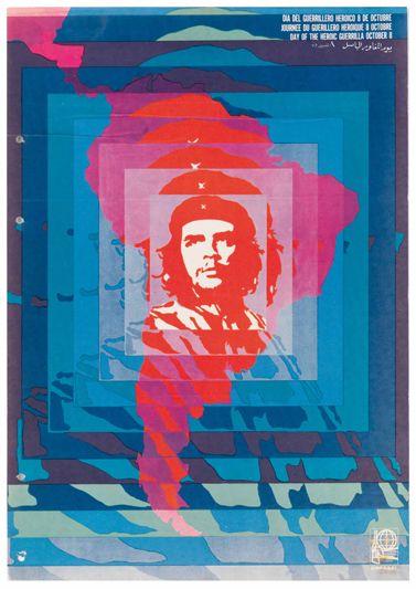 poster che guevara vintage grafica del novecento