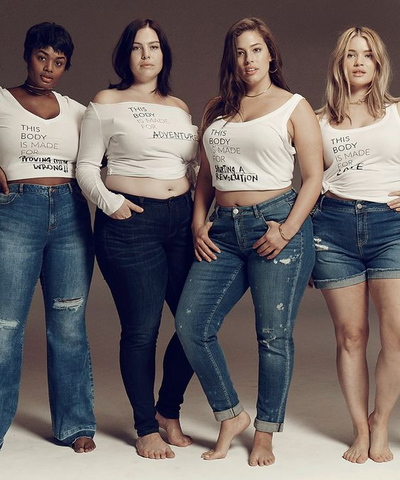 Lane Bryant This Body Campaign Ashley Graham | Lane Bryant's latest campaign focuses on body positivity and inclusivity. #refinery29 http://www.refinery29.com/2016/02/102899/lane-bryant-this-body-campaign