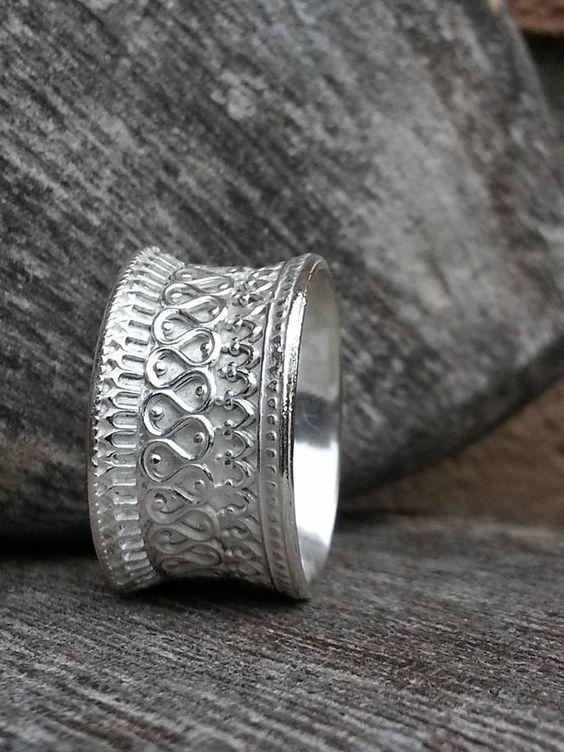 Idylliz Zilveren ring Hol.