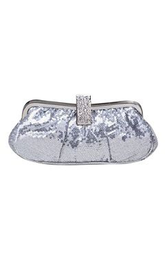 Silver #Clutches Style Code: 07769 $29
