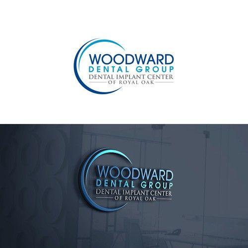 Woodward Dental Group Dental Implant Center Of Royal Oak Design A Wellness Logo For A Dental Implant Practice Logo Branding Identity Dental Implants Dental