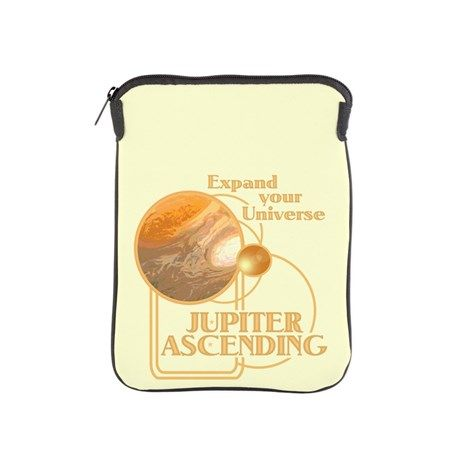 Jupiter Ascending #iPad Sleeve #JupiterAscending - Expand Your Universe - Movie Feb 6 lots of designs teams #JupiterJones -see all the products here - http://www.cafepress.com/dd/90334807