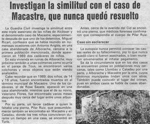 El misterio del caso Macastre 1379ed3ed49cf9cfc68e6ae966bbb18f