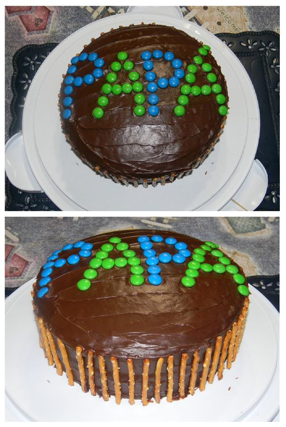 Father's Day chocolate cake :D~