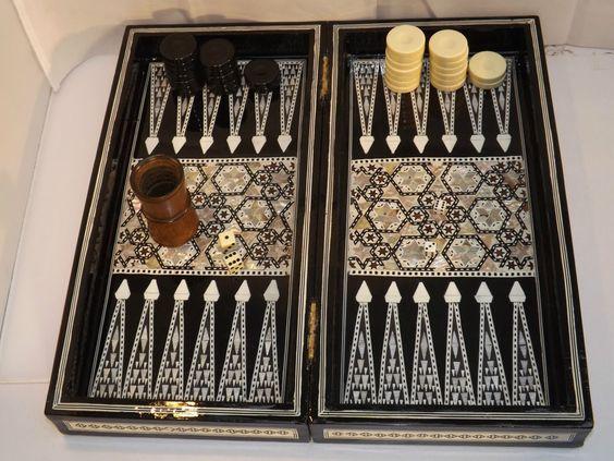 Vintage Backgammon Sets 17