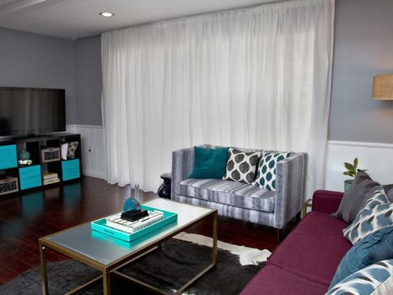 Team Drew: Living Room, After - Brother Vs. Brother Season 2: Photo Highlights From Episode 5 on HGTV