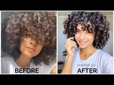 My Top 3 Tips To Improve Curly Hair Definition In 2020 Curly Hair Styles Medium Curly Hair Styles Short Curly Hair