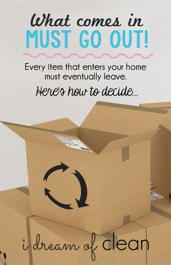 Our STUFF has a life cycle. Understanding the full picture makes it easier to declutter, simplify, and streamline.   Here are the details: http://idreamofclean.net/every-item-that-enters-your-home-must-eventually-leave/