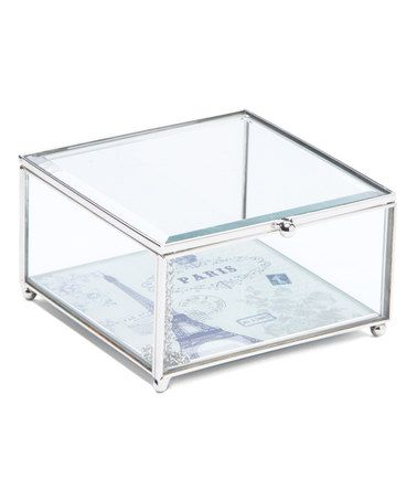 Loving this Glass Box on #zulily! #zulilyfinds