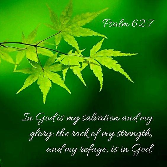 Psalm 62:7 KJV