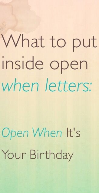 what to write in open when letters what to put inside open when letters open when letter 25598 | 137c9e7866524f8626580d3085230b00