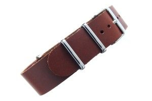 Clay NATO leather band