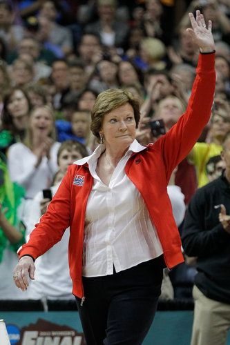 Here's to you Coach Summitt!