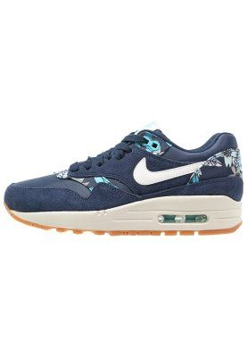 nike taquets 2K4 - AIR MAX 1 - Baskets basses - mid navy/sail/tide pool blue | shoe ...