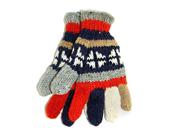 Cool Hand-Knitted Tibetan Woolen Glove