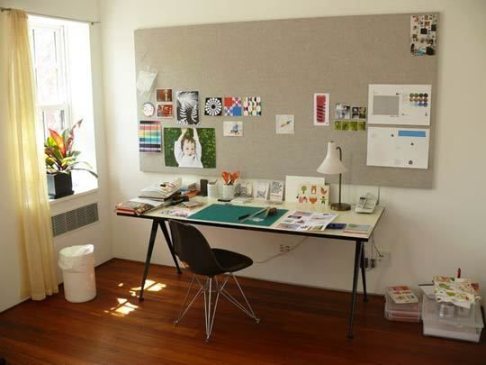 How to make a bulletin board with homasote offices for Bulletin board ideas for kitchen