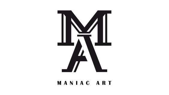 Das Logo von Maniac Art --- #logo #logodesigner #grafikloft #grafik #graphic