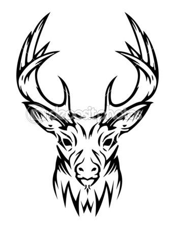 Large Printable Oval Template besides Deer head images clip art also Search moreover I0000LMZHEoAre7A further Moose. on deer mount clip art