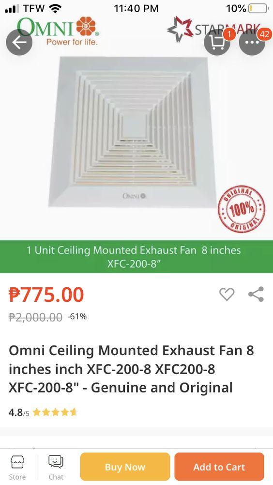 Omni Exhaust Fan Installation