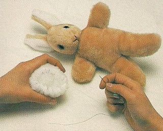 Cottage Crafts: Becky Bunny Stuffed Animal Free Sewing Pattern