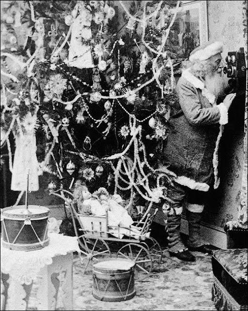 Man and his Christmas Tree, 1860