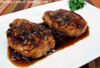 Apricot-Soy Pork Chops