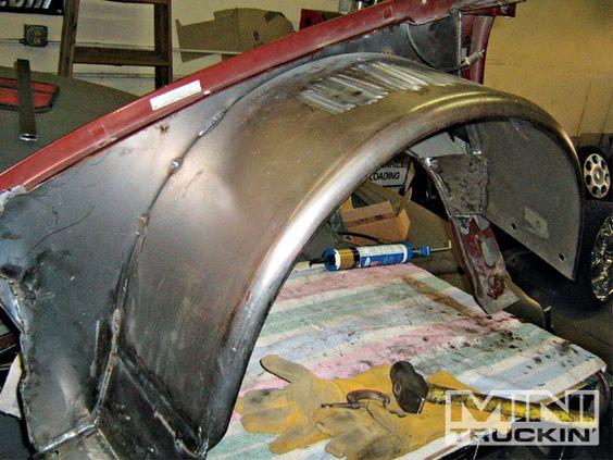 Custom Inner Wheel Wells Tubing Rolled Fenders Chevy