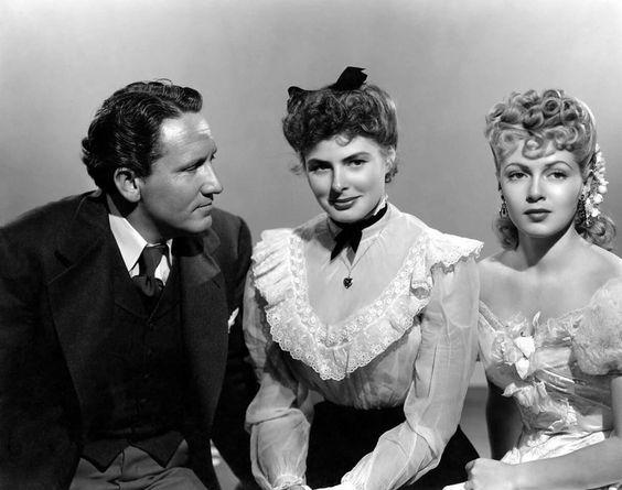 Spencer Tracy, Ingrid Bergman & Lana Turner Dr. Jekyll and Mr. Hyde (1941)