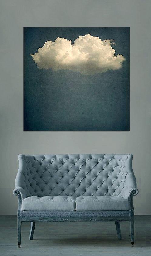 Salon sous nuage living cloud art i n s p i r a t i o n for Canape nuage