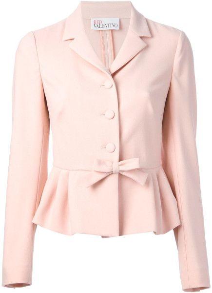 Pink Peplum Jacket sCp9Z9