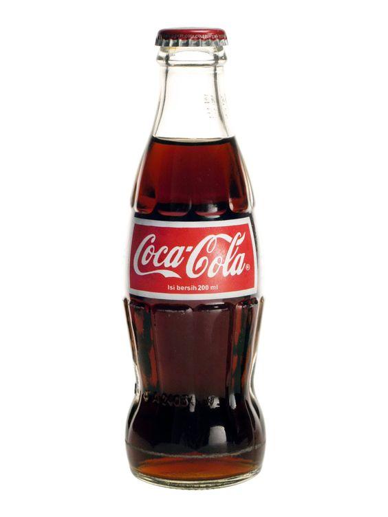 Le Coca en bouteille <3