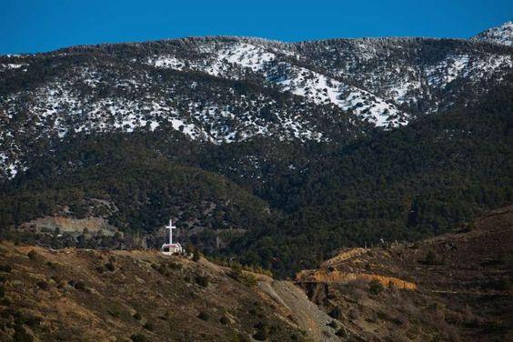 Monte Olimpo: Ponto mais alto de Chipre, o monte tem uma das vistas mais belas da ilha. Localizado n... - Shutterstock