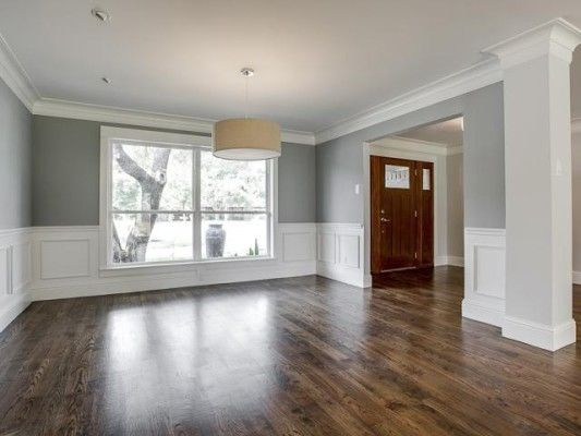 Walnut floor - Gorgeous ranch remodel. They did this right! I wonder what they spent?