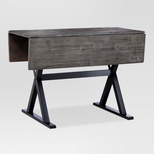 40 Square Drop Leaf Rustic Dining Table Threshold Dining