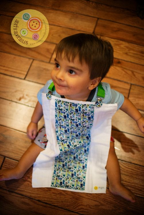Nursing Clip - Alexander Henry Teeny Tiny Zoo in Pool Blue by @adrisadorables: