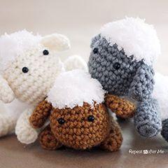 Amigurumi Sheep Tutorial : Amigurumi Lamb - FREE Crochet Pattern / Tutorial ...