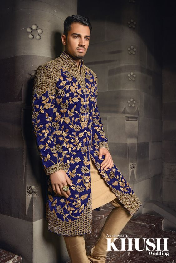 Be The Man Of The Moment With A Regal Sherwani From Cuckoo