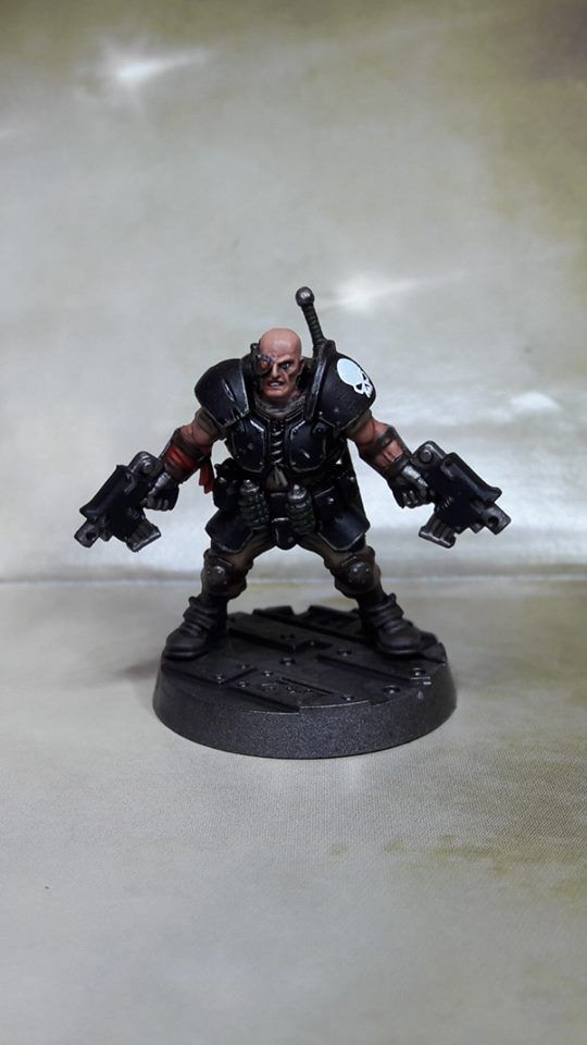 A 40k Author Jack Da Silva A K A The Bounty Hunter Meridian By Stephen Bissett Warhammer 40k Miniatur Modell