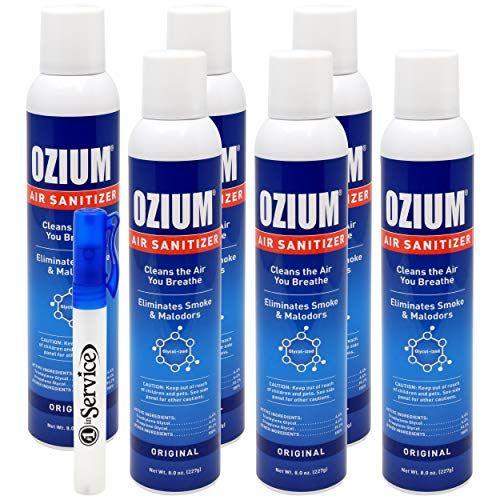 Ozium Air Sanitizer Reduces Airborne Micro Organism Eliminates