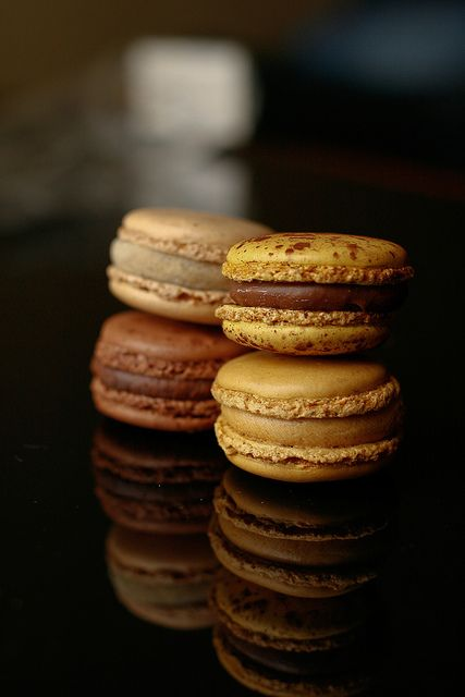 Macarons!! Pierre Herme.  just a reference photo, to guide us to his perfection ! ;)