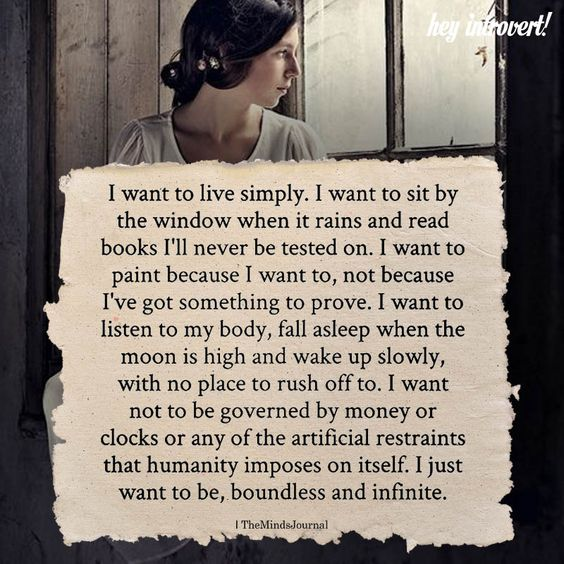 I Want To Live Simply - https://themindsjournal.com/want-live-simply-2/