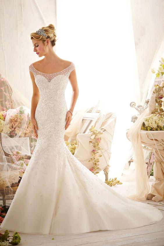 Mori Lee, fall 2014 bridal