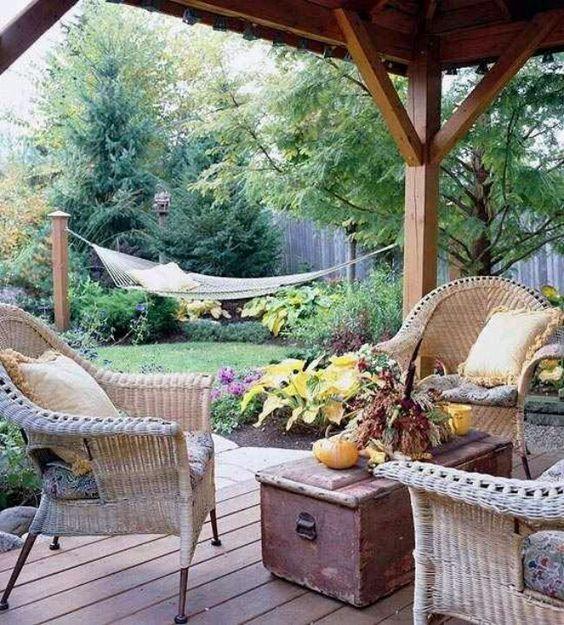 Hammocks, Pergolas And Backyard Hammock On Pinterest