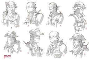 ao2 40th day: grunt head rough by ~ClementSauve on deviantART