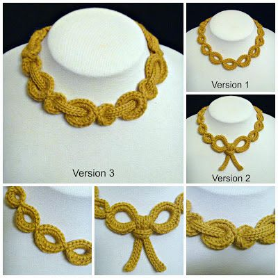 Stitch Story: Bella Necklace Trio Pattern is Now Available!