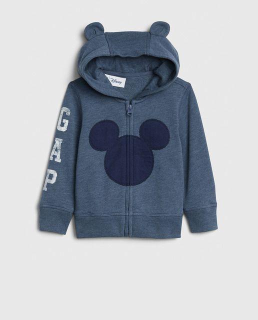 Gap Sudadera De Beb Eacute Ni Ntilde O Azul De Mickey Mouse En 2021 Sudadera Mickey Mouse Mickey Mouse Mickey