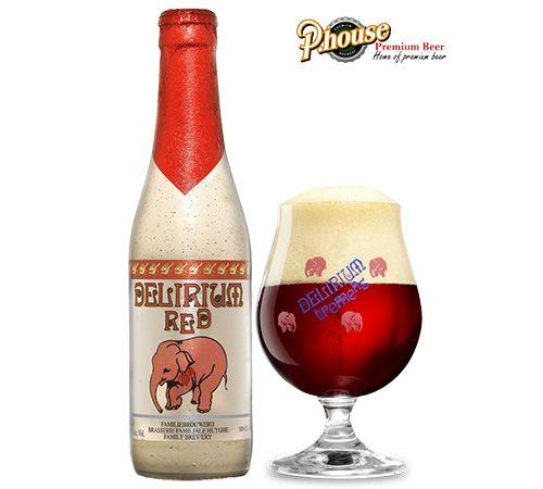 bia con voi Delirium Red